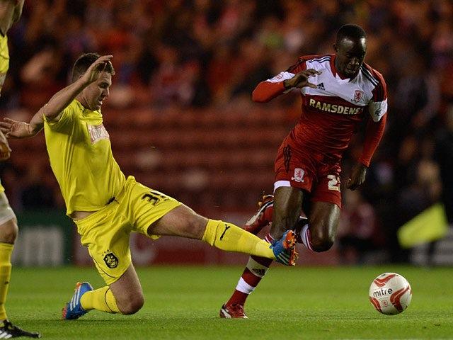 Result: Middlesbrough back to winning ways