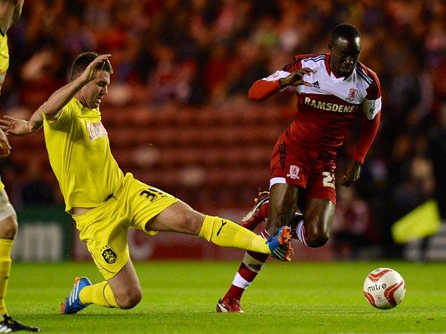 Result: Middlesbrough, Huddersfield share points