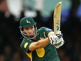 Nottinghamshire's Alex Hales bats against Glamorgan on September 21, 2013