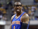 New York Knicks' Amare Stoudemire in action against Indiana Pacers on May 14, 2013