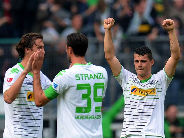 Result: Xhaka clinches late win for Gladbach