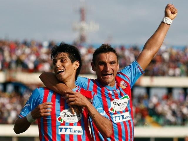Result: Catania edge past Atalanta