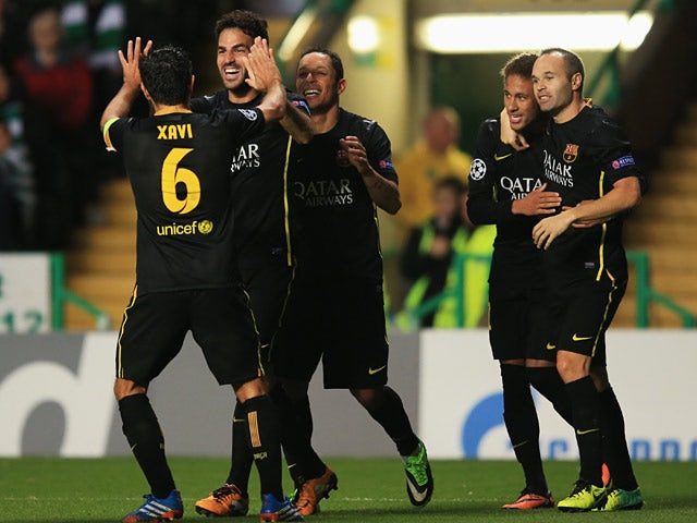 Result: Barcelona edge past 10-man Celtic