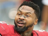 Arizona defensive captain Darnell Dockett on the sidelines against Detroit on September 15, 2013