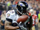 San Francisco 49ers' Donte Whitner in action against Baltimore Ravens on February 3, 2013
