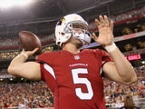 Cardinals QB Drew Stanton in action against San Diego on August 24, 2013