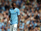 Manchester City's Fernandinho in action against Hull on August 31, 2013