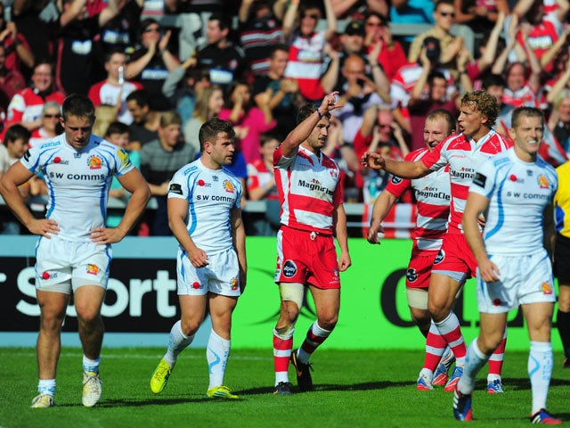 Result: Exeter Chiefs see off Gloucester Rugby