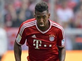 Bayern defender Jerome Boateng in action against Nuremberg on August 24, 2013
