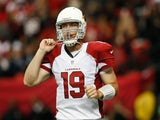 Then Arizona Cardinals QB John Skelton in action against Atlanta on November 18, 2012