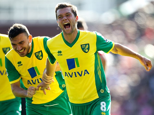 Result: Howson strike gives Norwich victory