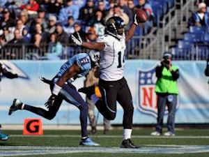 Jaguars' Blackmon status unclear