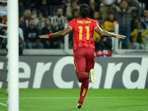 Team News: Drogba, Sneijder start for Galatasaray