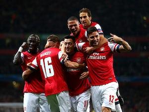 Parlour lauds Arsenal's midfield options
