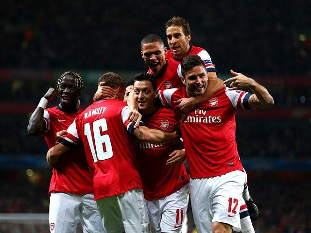 Result: Arsenal overcome Napoli