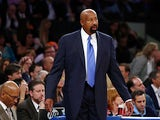 New York Knicks head coach Mike Woodson during his team's game against the Indiana Pacers on May 16, 2013