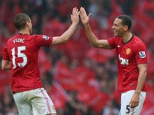 Vidic, Ferdinand miss Man Utd training