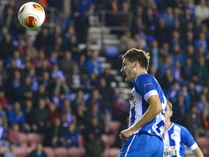 Wigan, Rubin in 1-1 draw
