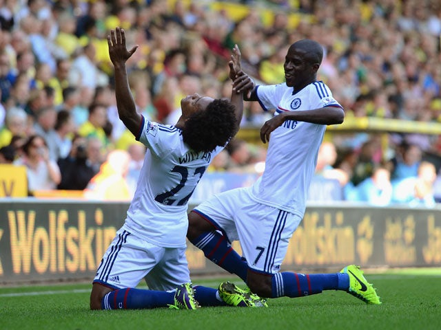 Result: Late goals help Chelsea past Norwich