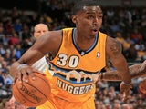 Denver Nuggets' Quincy Miller in action Phoenix on April 17, 2013