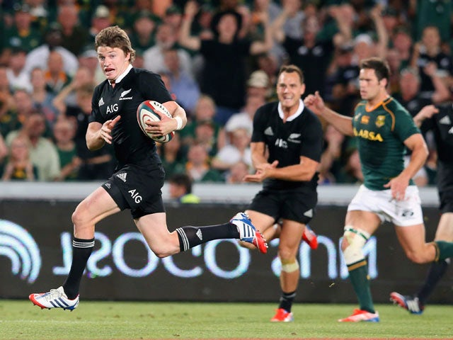 Result: New Zealand clinch Rugby Championship