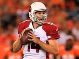 Cardinals QB Ryan Lindley in action against Denver on August 29, 2013
