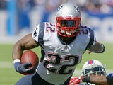 Pats RB Stevan Ridley in action against the Buffalo Bills on September 8, 2013