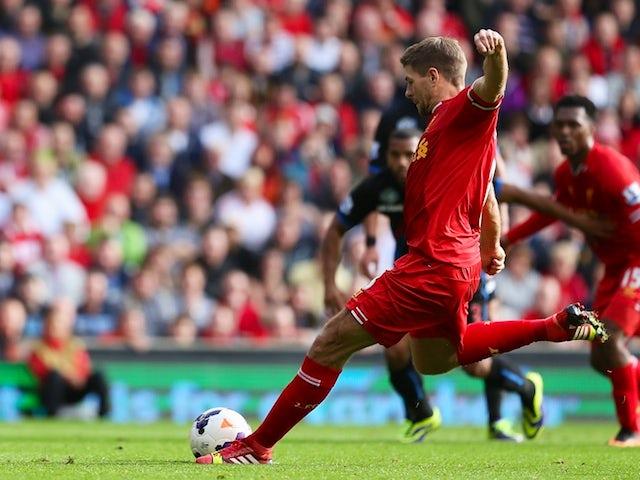 Result: Liverpool put three past Palace