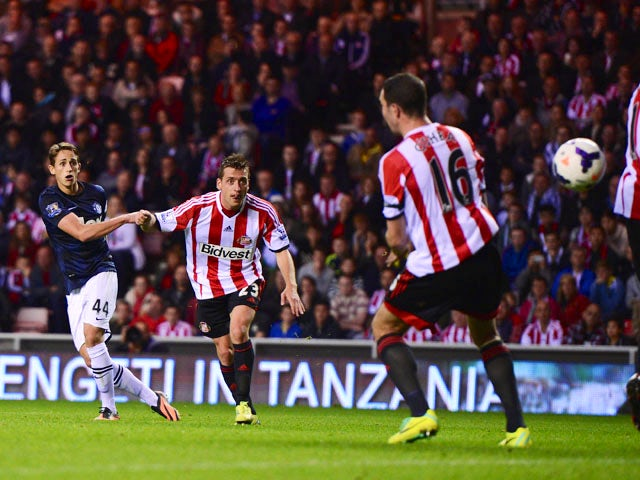 Result: Januzaj double spares United blushes