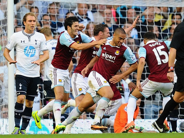 Result: West Ham down sorry Spurs