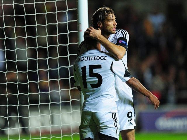 Result: Swansea edge past St Gallen