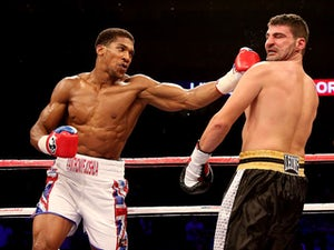 Result: Joshua overpowers Darch