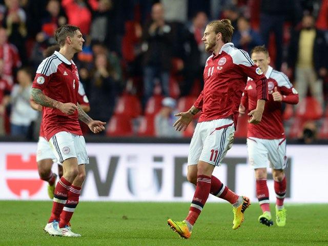 Result: Denmark held by determined Albania