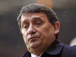 Graham Taylor in the dugout during his time with Aston Villa in March 2002.