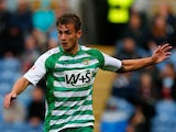 Joe Ralls of Yeovil in action during the Sky Bet Championship match between Burnley and Yeovil Town at Turf Moor on August 17, 2013