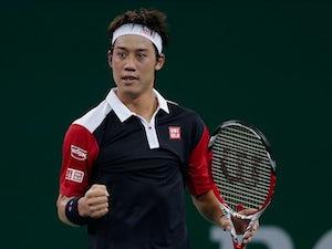Nishikori eases into second round