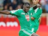 Saint-Etienne's Kurt Zouma in action against Monaco on October 5, 2013