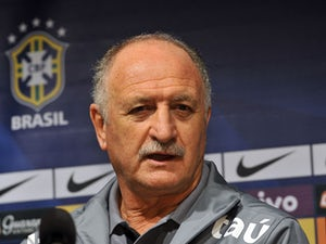 Brazilian football team coach Luiz Felipe Scolari speaks during a press conference after a training session ahead of a friendly football match with South Korea in Seoul on October 11, 2013