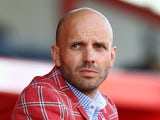 Paul Tisdale manager of Exeter City during the Pre Season Friendly match between Exeter City and Queens Park Rangers at St James Park on July 11, 2013