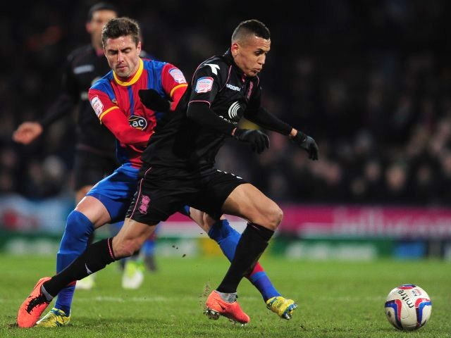 Ravel Morrison in action for Birmingham City against Crystal Palace in March 2013.