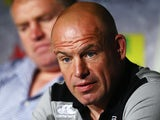 Leicester Tigers Director of Rugby Richard Cockerill during an interview on August 29, 2013