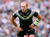 Richard Whiting of Hull FC looks on during the Tetley's Challenge Cup Final between Wigan Warriors and Hull FC at Wembley Stadium on August 24, 2013