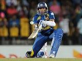 Sri Lankan batsman Tillakaratne Dilshan plays a shot during the third and final Twenty20 cricket match between Sri Lanka and South Africa at the Suriyawewa Mahinda Rajapakse International Cricket Stadium in the southern district of Hambantota on August 6,