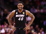 Miami Heat's Udonis Haslem in action against San Antonio on June 13, 2013