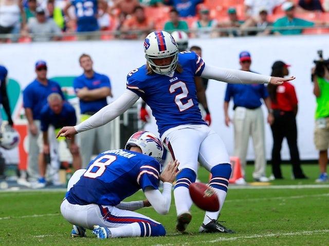 Result: Late Carpenter kick hands Bills win