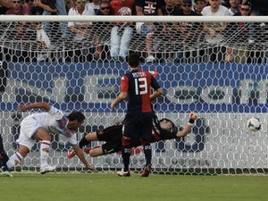 Late goal downs 10-man Catania