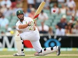 Jacques Kallis of South Africa bats during day three of the Second Test Match between Australia and South Africa at Adelaide Oval on November 24, 2012