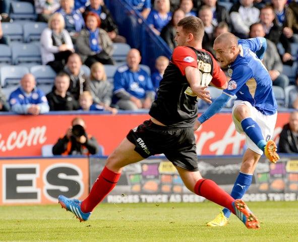 Result: Leicester cruise past ten-man Bournemouth