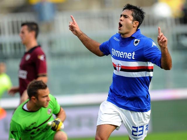 Result: Sampdoria narrowly beat 10-man Atalanta
