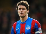 Paddy McCarthy of Crystal Palace in action during the npower Championship match between Crystal Palace and Peterborough United at Selhurst Park on March 3, 2012